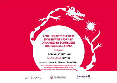 2010 - Spanish Wine For Asia