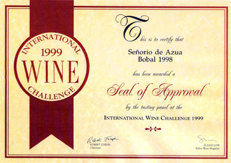 1999 - International Wine Challenge
