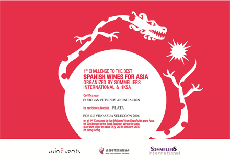 Spanish Wine For Asia